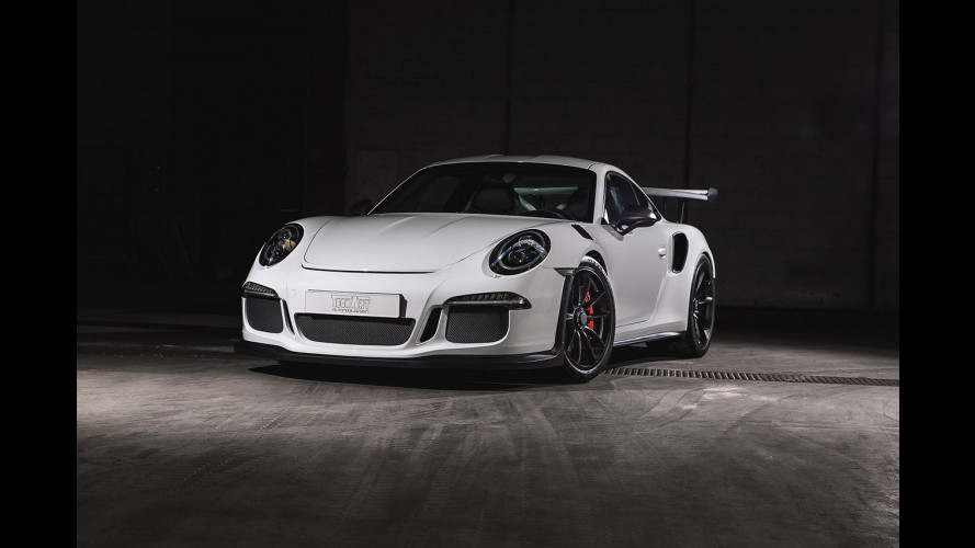Porsche 911 GT3 RS by Techart, il dominio del carbonio