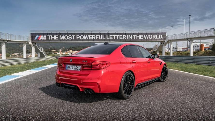 BMW Individual présente la palette de couleurs possible pour la M5