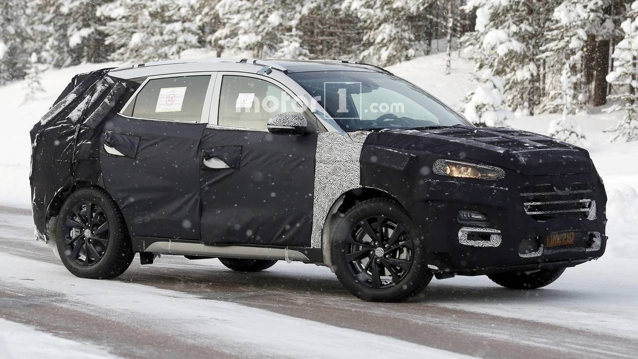 Hyundai Tucson 2019 - Flagra