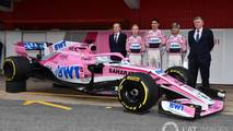 Force India VJM11 temporada 2018