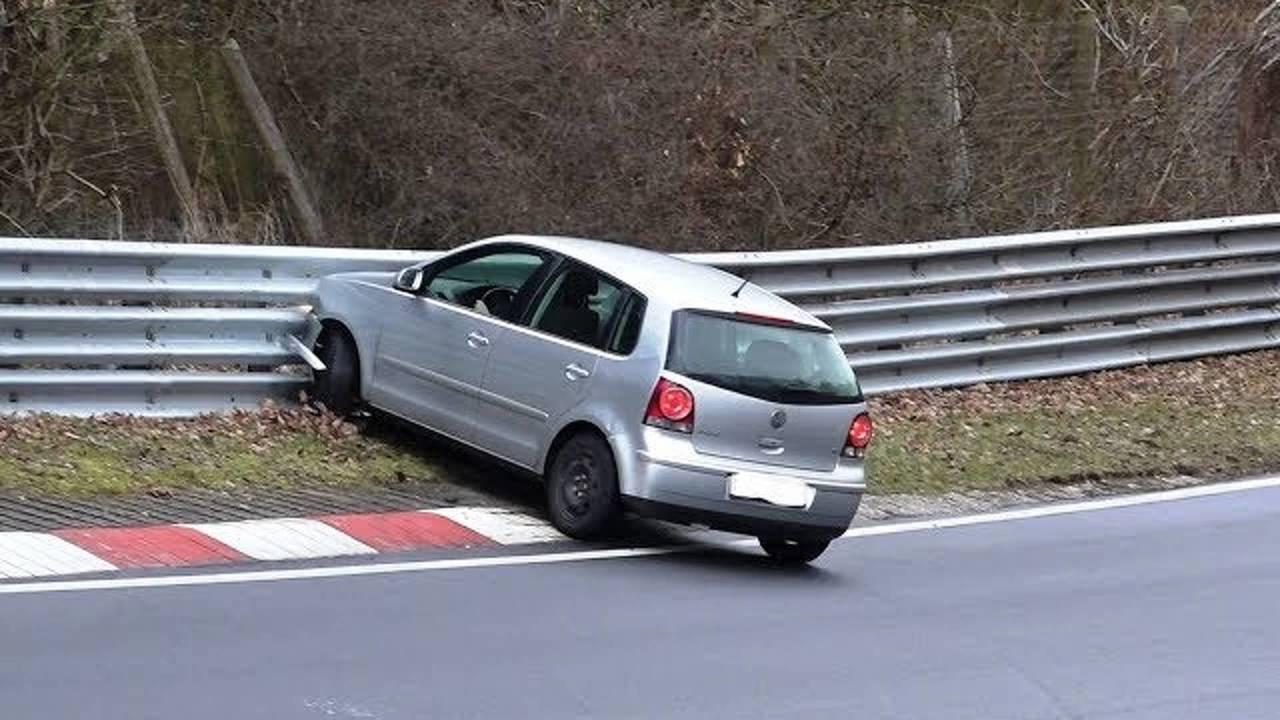 Polo Nürburgring Kazası