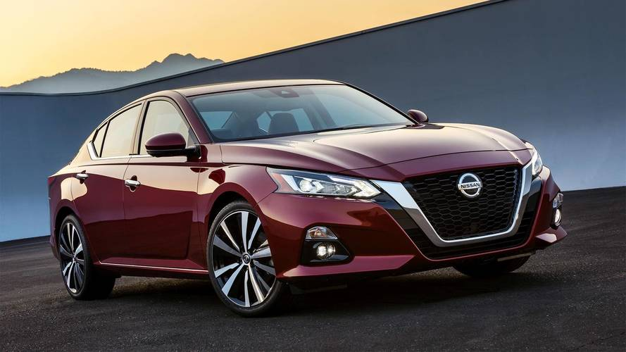 2019 Nissan Altima Arrives In New York With Sharper Styling, New Engines