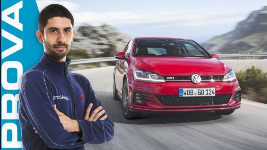 "Volkswagen Golf GTI, la sportiva ""normale"" [VIDEO]"