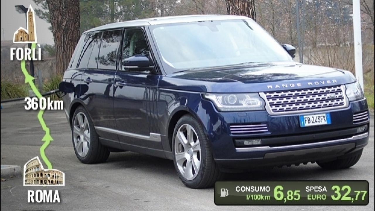 [Copertina] - Range Rover Hybrid, la prova dei consumi reali