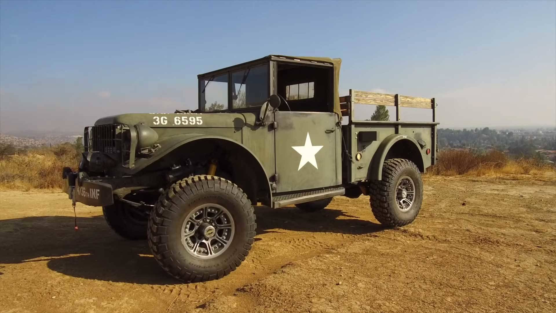 Buy This Icon Dodge M37 Derelict, Take Command Of Your Town