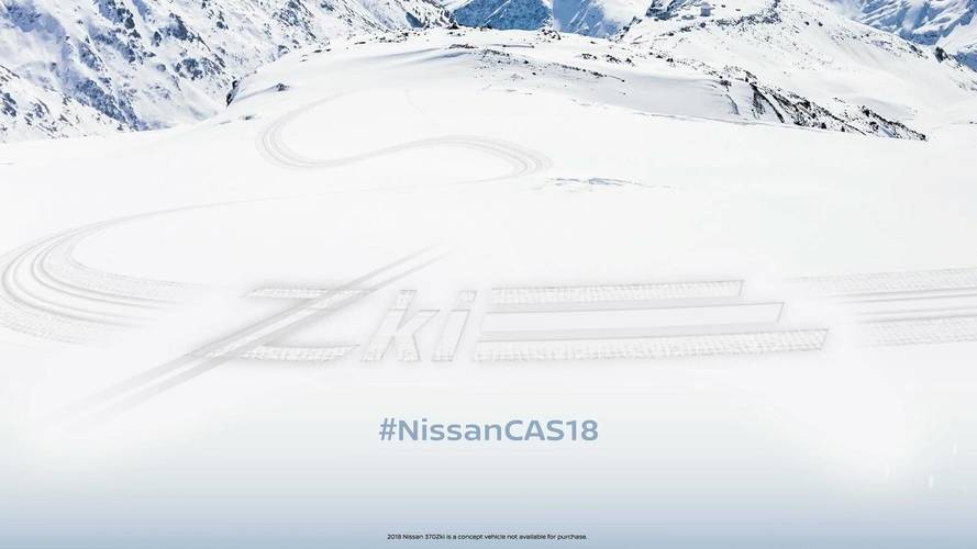 Nissan Teases 370Zki, The Sports Coupe To Conquer Ski Slopes