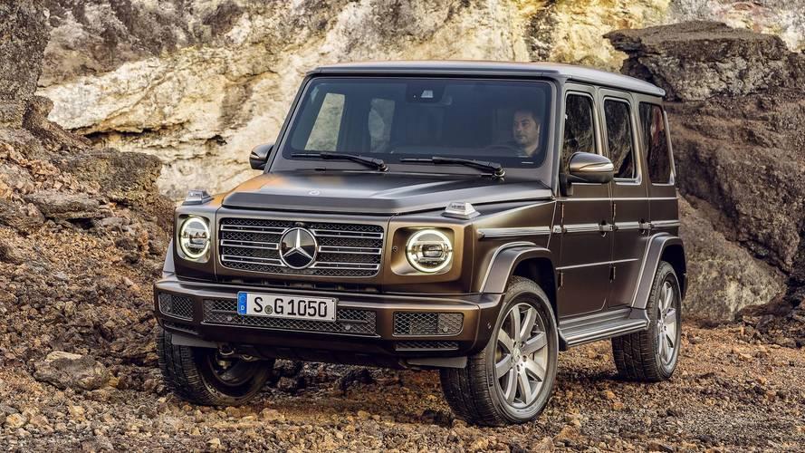 Mercedes Classe G, il concept elettrico EQG al Salone di Monaco