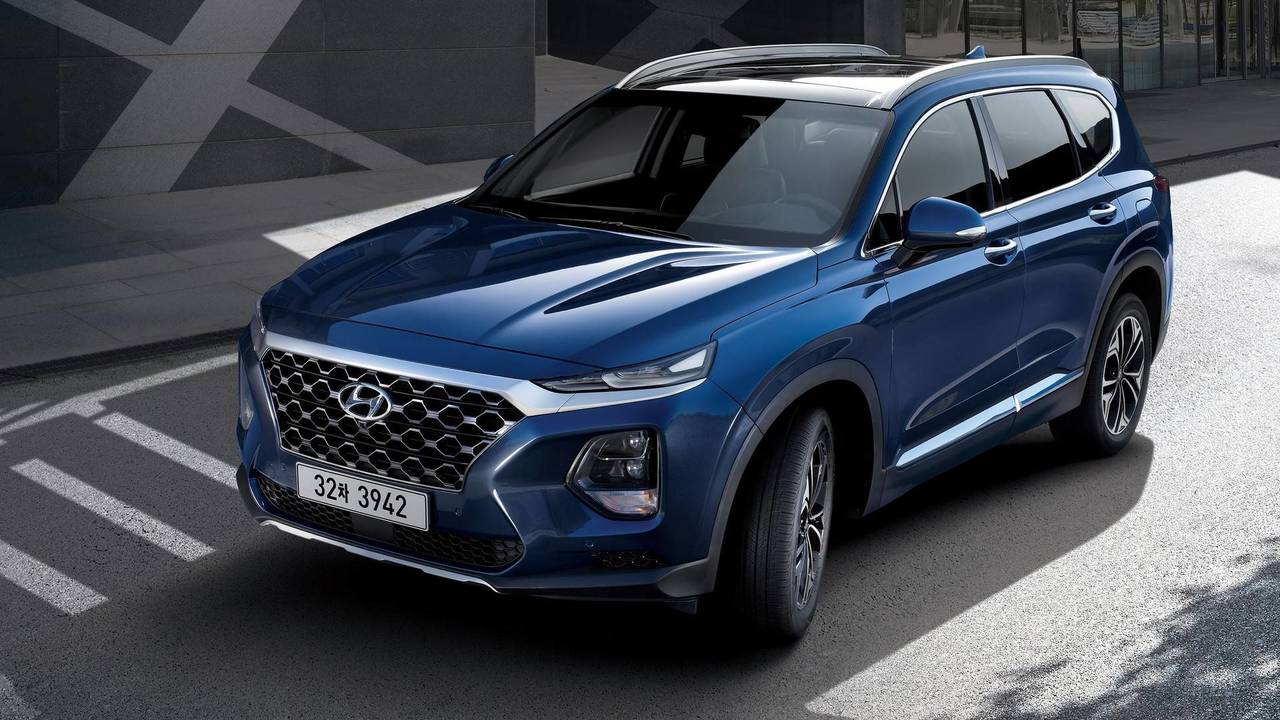 2019 Hyundai Santa Fe First Official Images Are Out Update