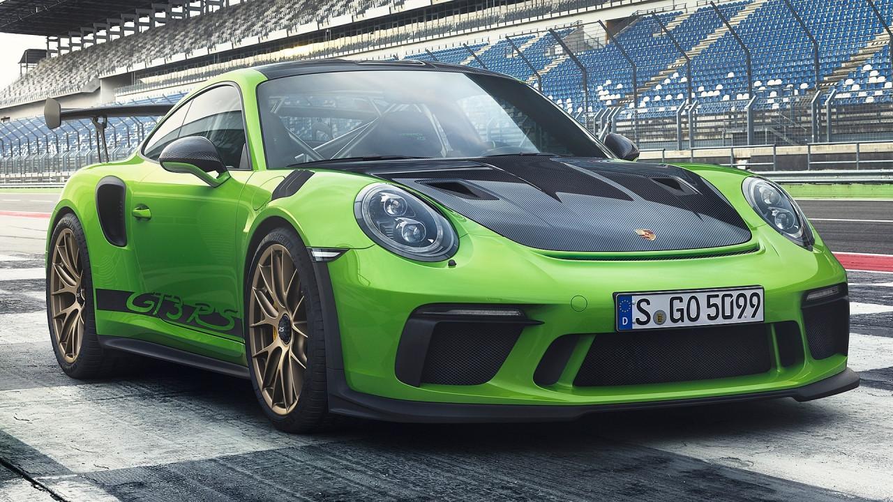 [Copertina] - Nuova Porsche 911 GT3 RS, col 4.0 aspirato tocca i 520 CV