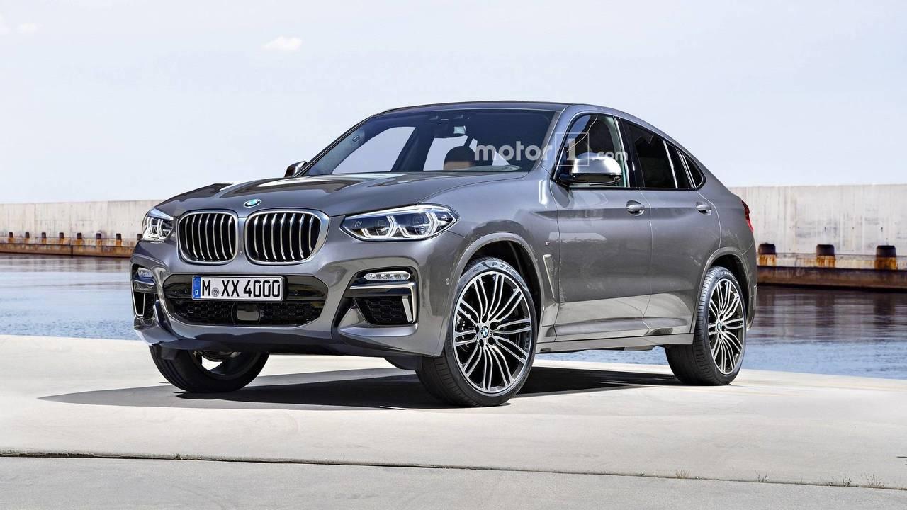 2019 BMW X4 Render