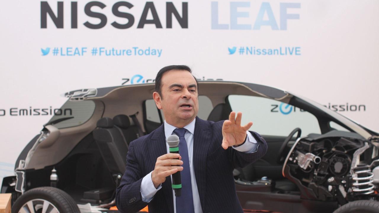 [Copertina] - Renault-Nissan, Ghosn parla di collaborazioni con Amazon e Uber per la guida autonoma