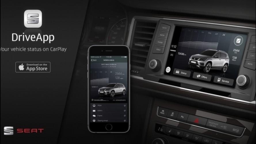 CarPlay, la app di Seat si scarica dall'App Store