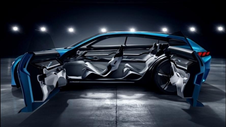 [Copertina] - Peugeot Instinct concept, l'auto che ti chiude la porta di casa [VIDEO]