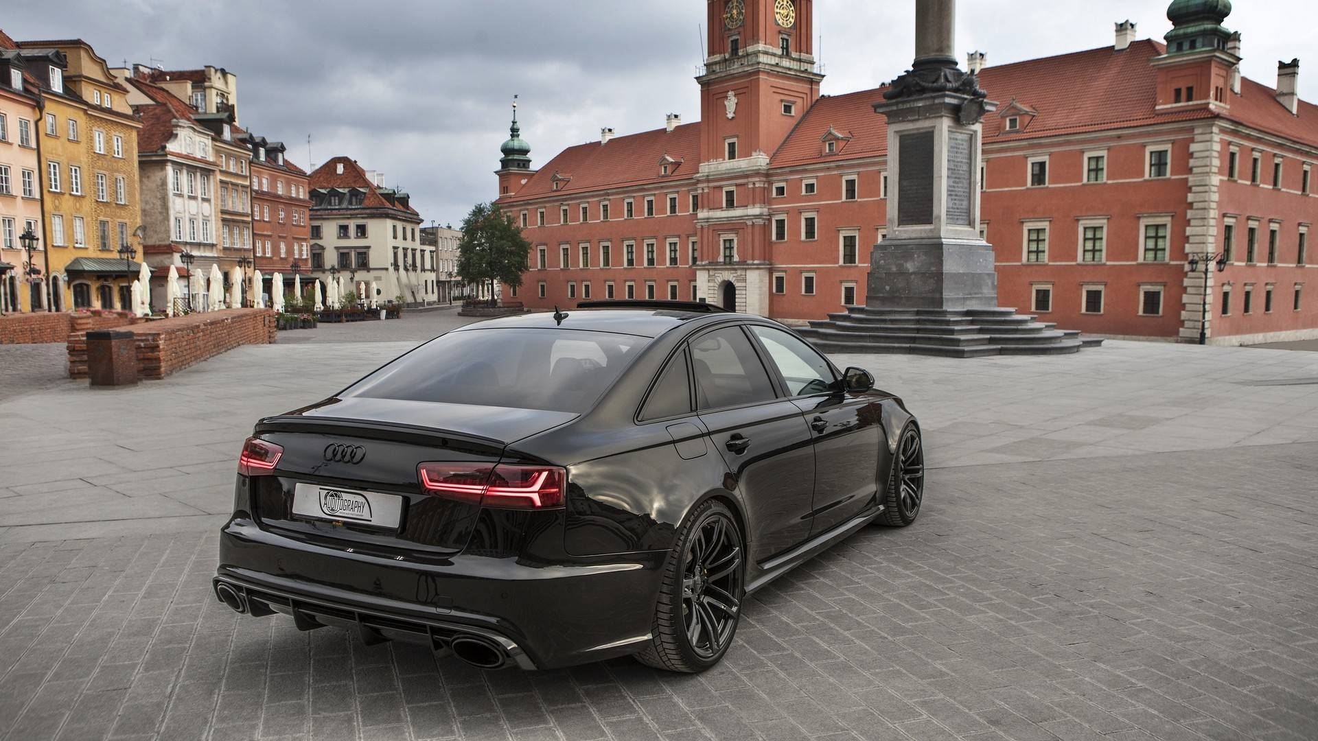 Audi Hasn T Made An Rs6 Sedan This Generation Yet One Exists