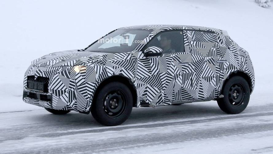 DS3 Crossback spy photo