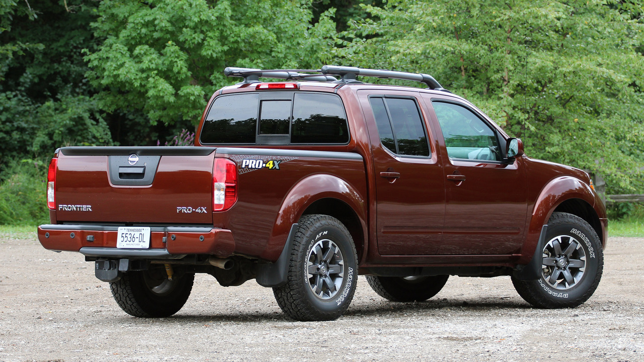 2016 Nissan Frontier Pro 4x Review
