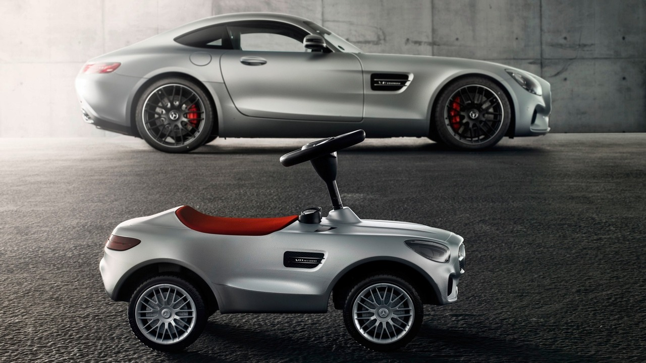 mercedes unveils amg gt bobby car for kids. Black Bedroom Furniture Sets. Home Design Ideas