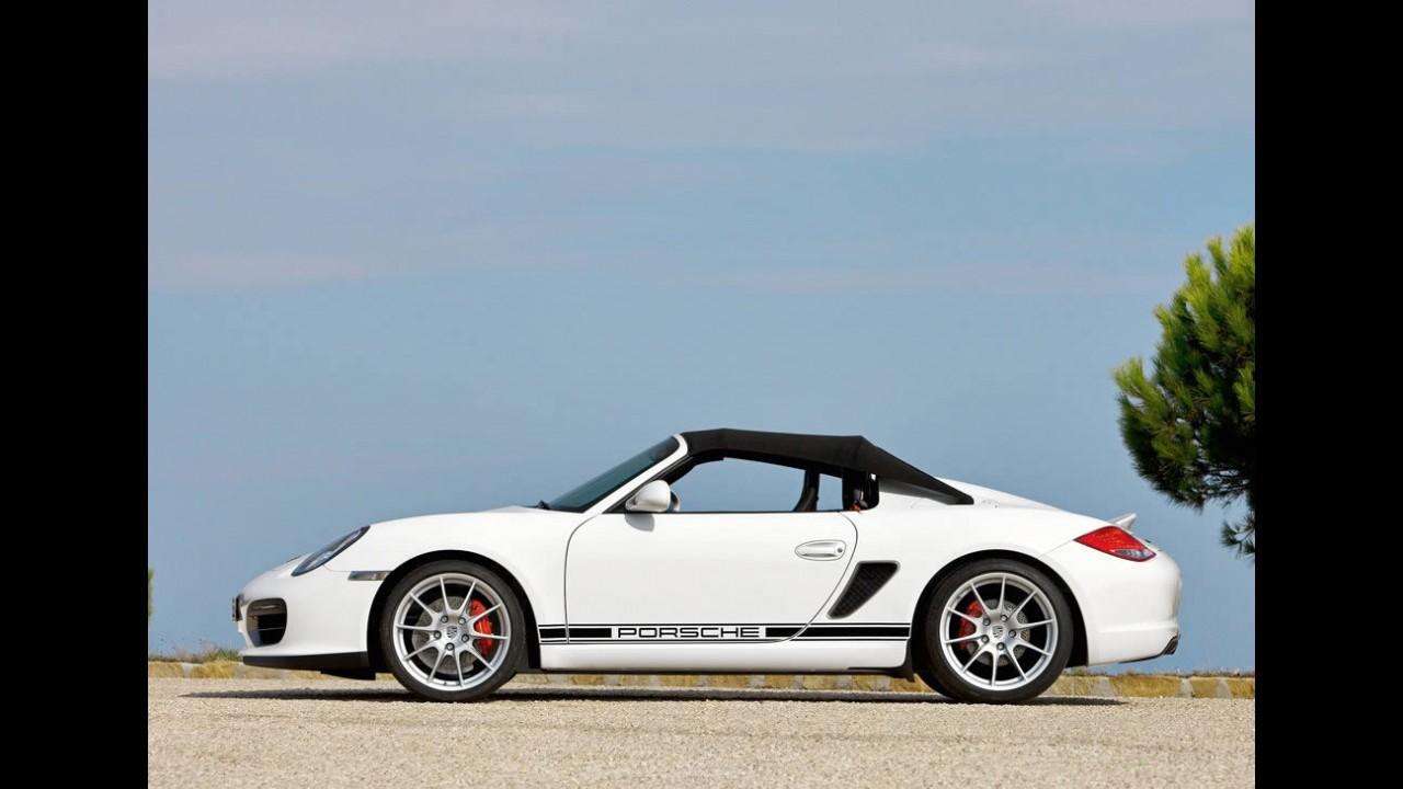 Porsche mengungkapkan rincian dari Boxster Spyder 2010