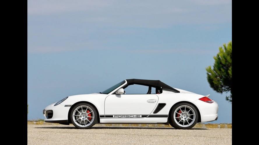 Boxster Spyder dengan Bodi Ringan, Awal Modernisasi Porsche Boxster