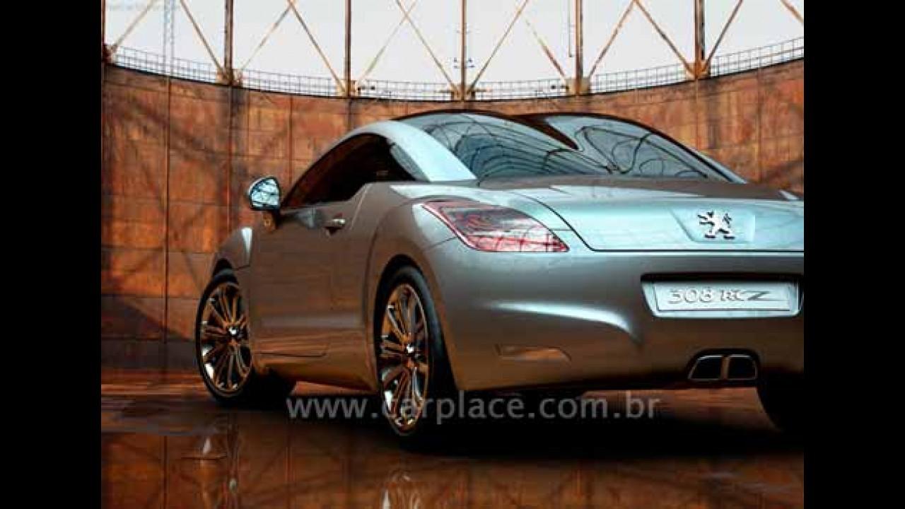 Peugeot confirma produção em série do coupé esportivo 308 RC Z em 2009