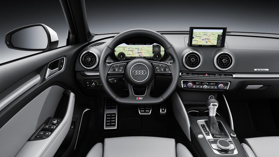 Audi A Sportback Etron Gets Virtual Cockpit Sport Package - 2018 audi a3 sportback e tron