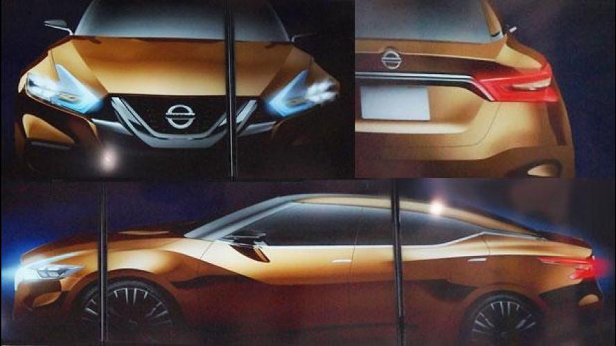 Nissan, in una foto il futuro del suo design
