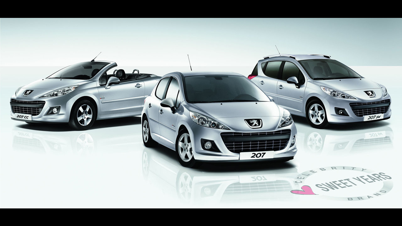 Gamma Peugeot 207 Sweet Years