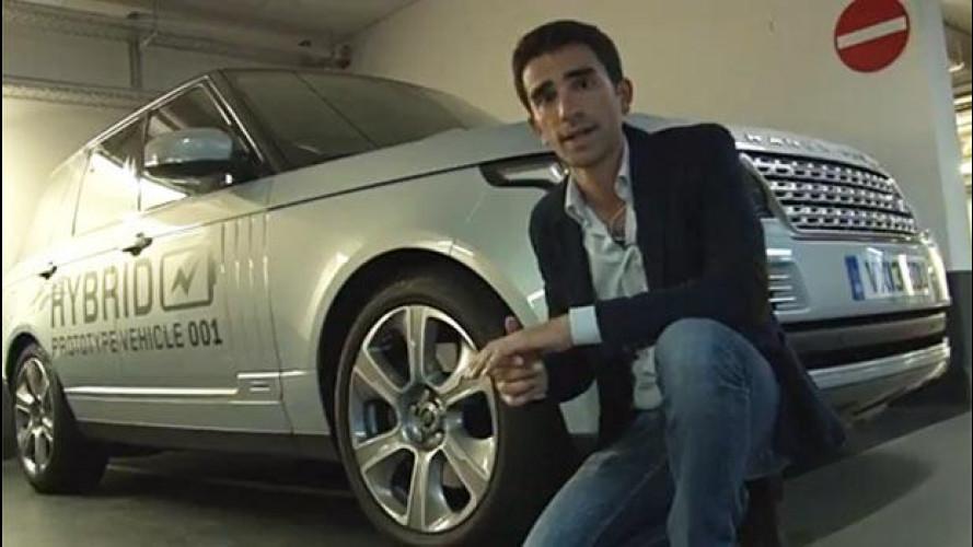 Salone di Francoforte: come va la nuova Range Rover Hybrid