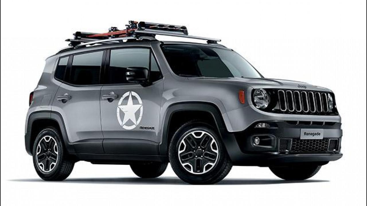 [Copertina] - Jeep Renegade, speciale con gli accessori Mopar