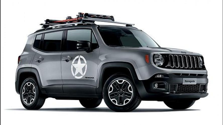 Jeep Renegade, speciale con gli accessori Mopar