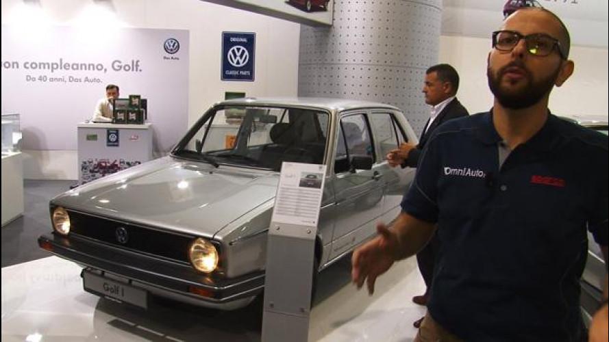 Auto e Moto d'Epoca, 40 anni di Volkswagen Golf