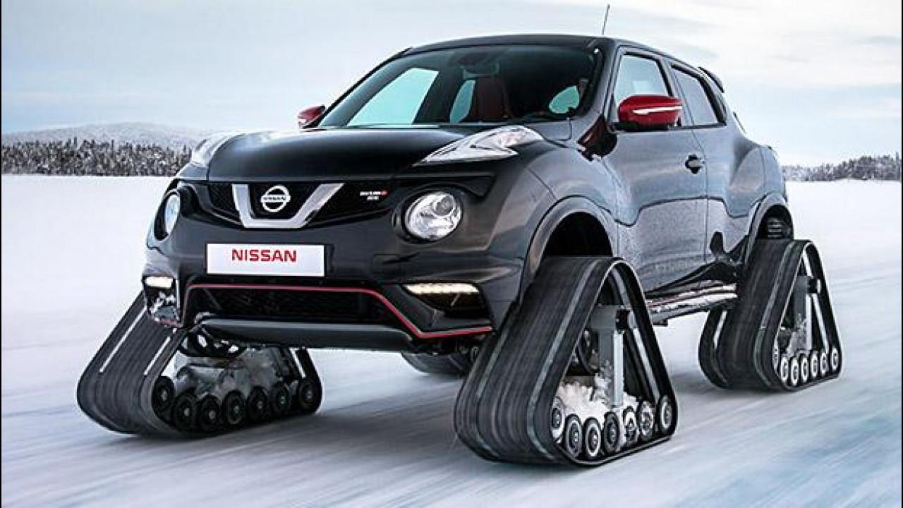[Copertina] - Nissan Juke Nismo RSnow, gatta delle nevi