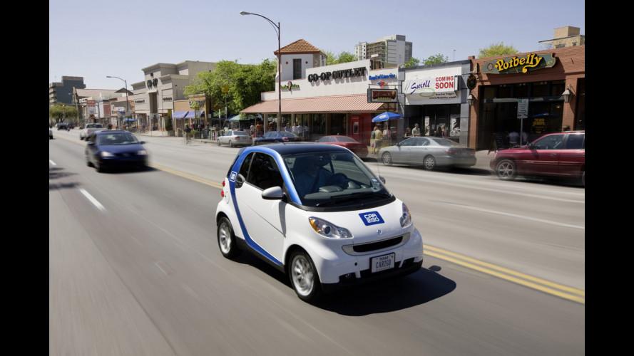 smart e car2go arrivano in Texas