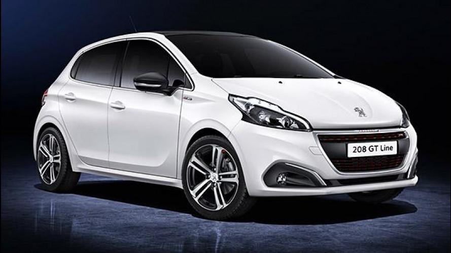 Peugeot 208 restyling, il nuovo volto della francesina
