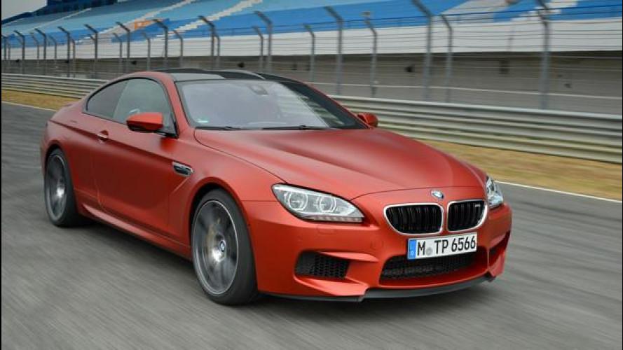 """BMW M5 e M6: vernici speciali che si sentono """"Individual"""""""