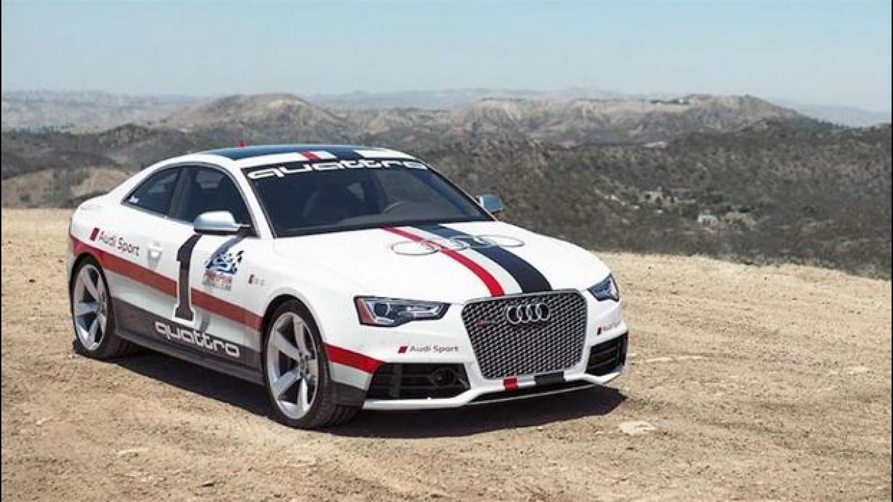 [Copertina] - Pikes Peak Hill climb 2012: Audi è con Ducati