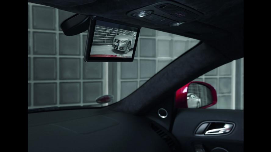 L'Audi R8 e-tron avrà lo specchietto retrovisore digitale