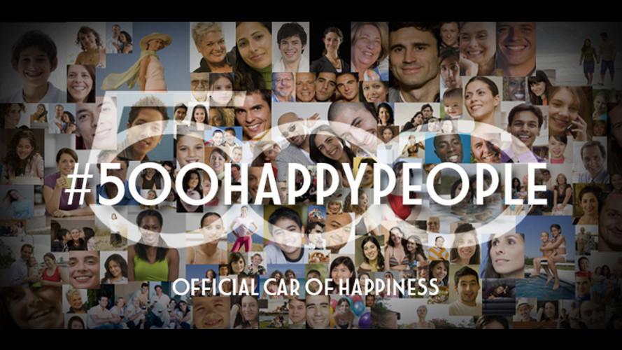 Fiat 500, 7 anni e l'hashtag #500happypeople