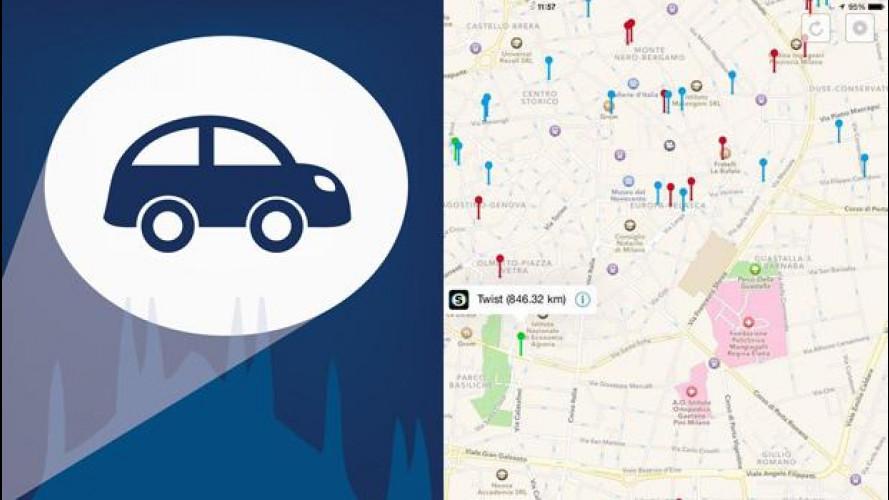 Car sharing, ora c'è l'app unica Bat Sharing