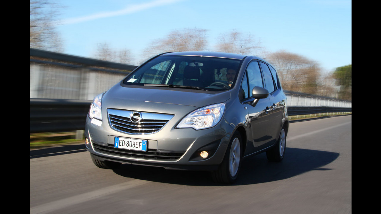 Opel Meriva 1.3 CDTI 95 CV ecoFLEX Cosmo - TEST