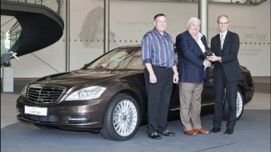 La Mercedes Classe S raggiunge quota 500.000