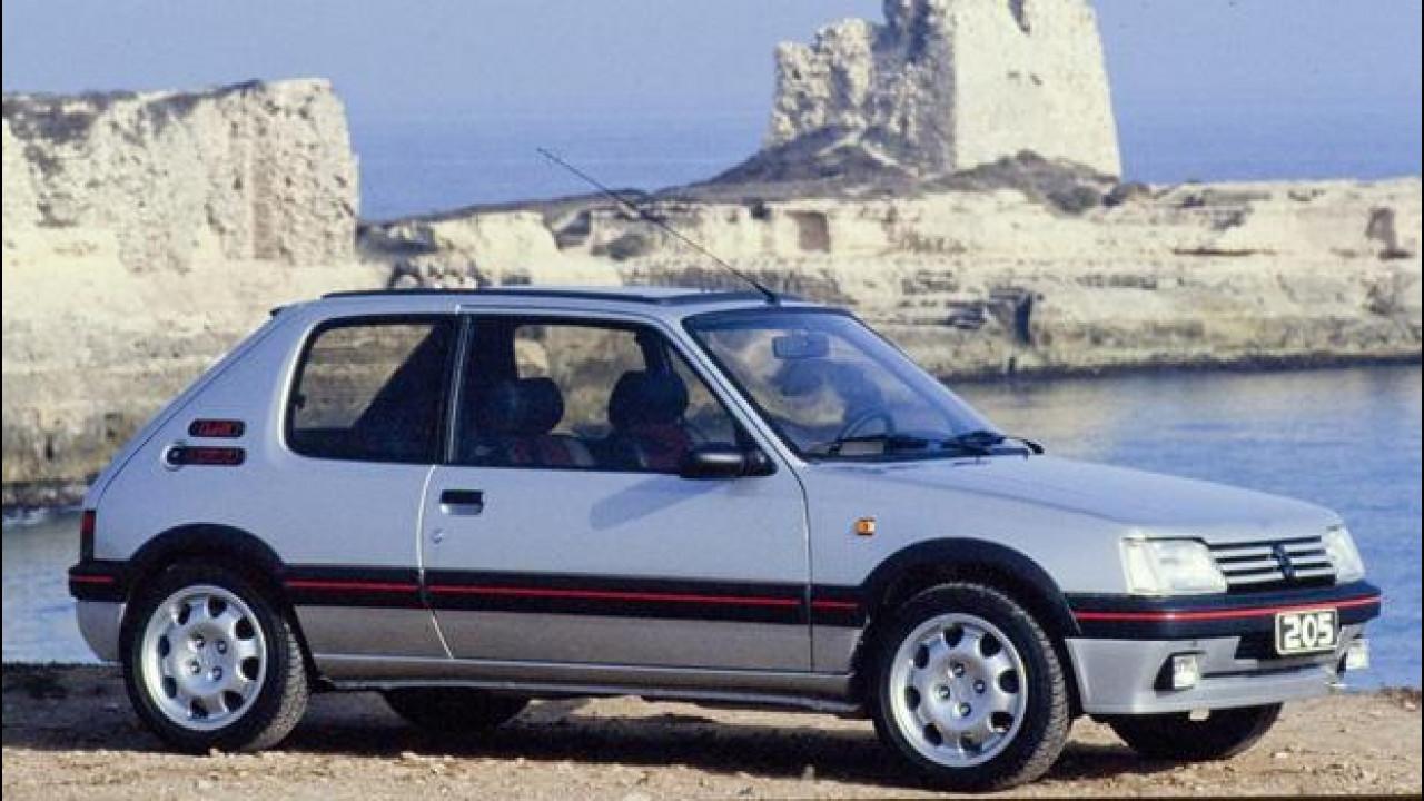 [Copertina] - Peugeot 205, le