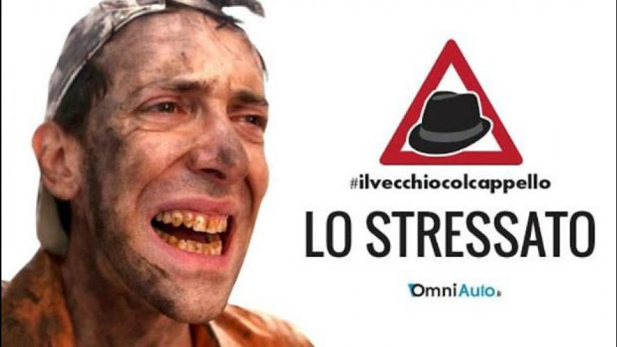 Lo stressato e #ilvecchiocolcappello