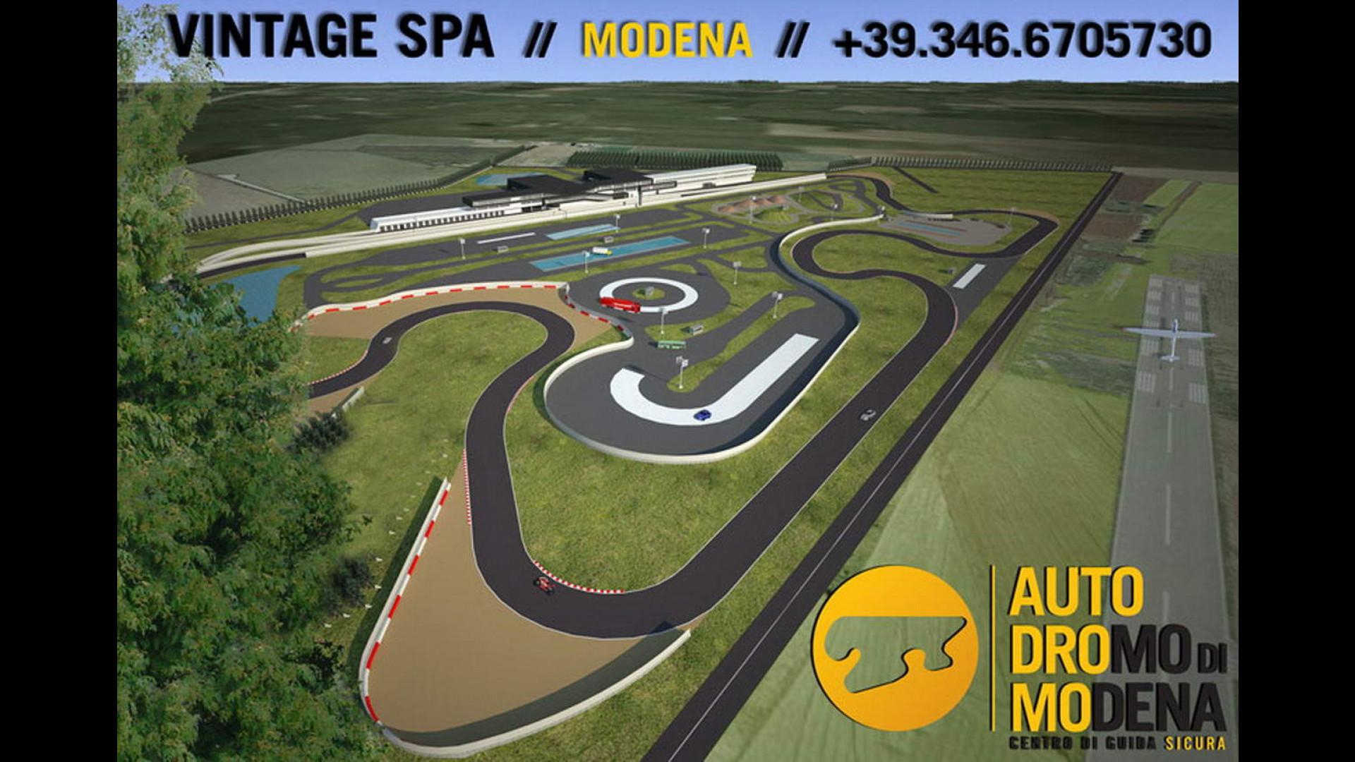 Circuito Modena : Nuovo autodromo di modena: apertura a giugno motor1.com italia