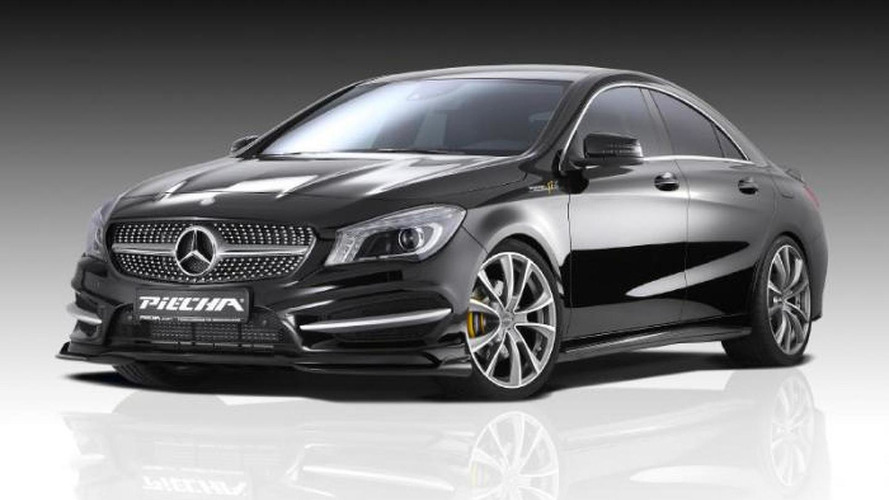 Mercedes-Benz CLA prepared by Piecha Design