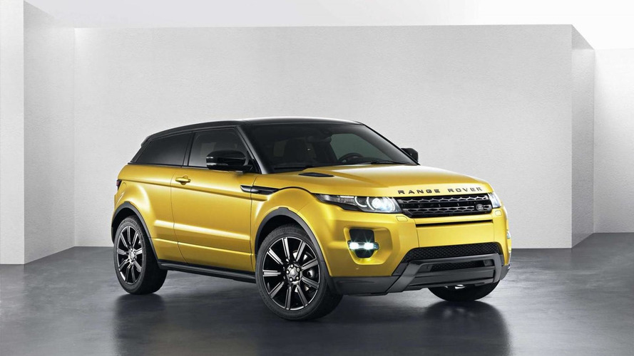 Range Rover Evoque Sicilian Yellow Limited Edition launched