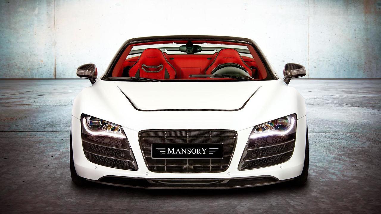 Audi R8 Spyder by Mansory - 22.11.2011