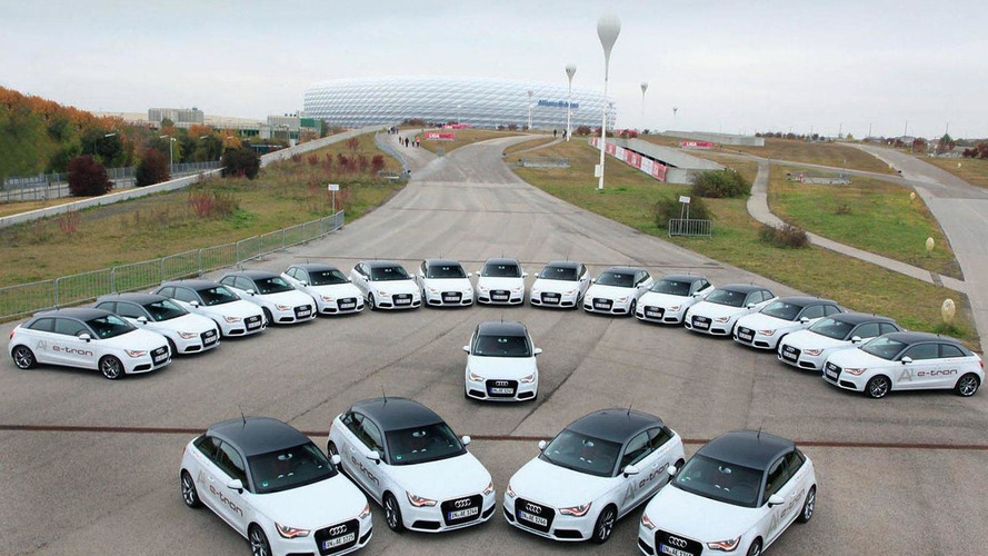 Audi A1 e-tron fleet begins pilot project in Munich