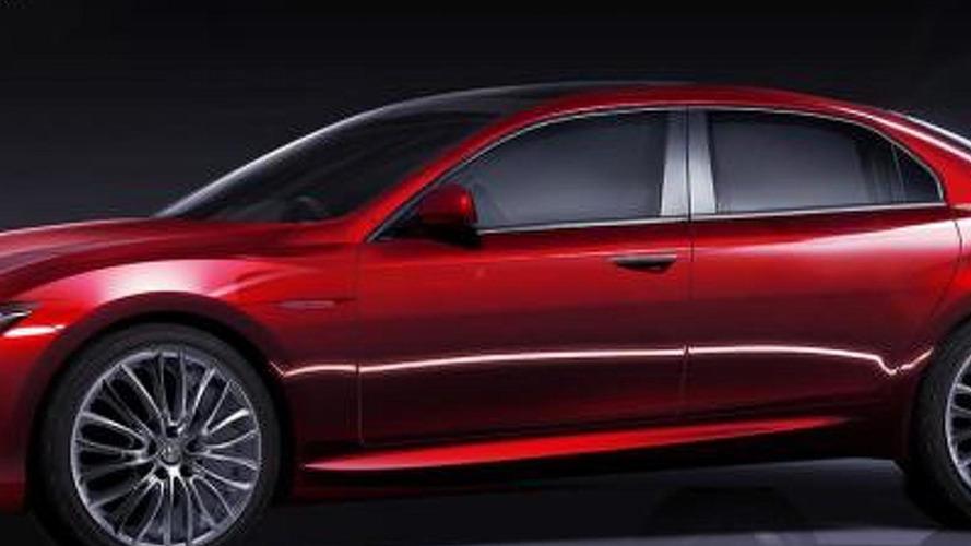 2014 Alfa Romeo Giulia variants rendered
