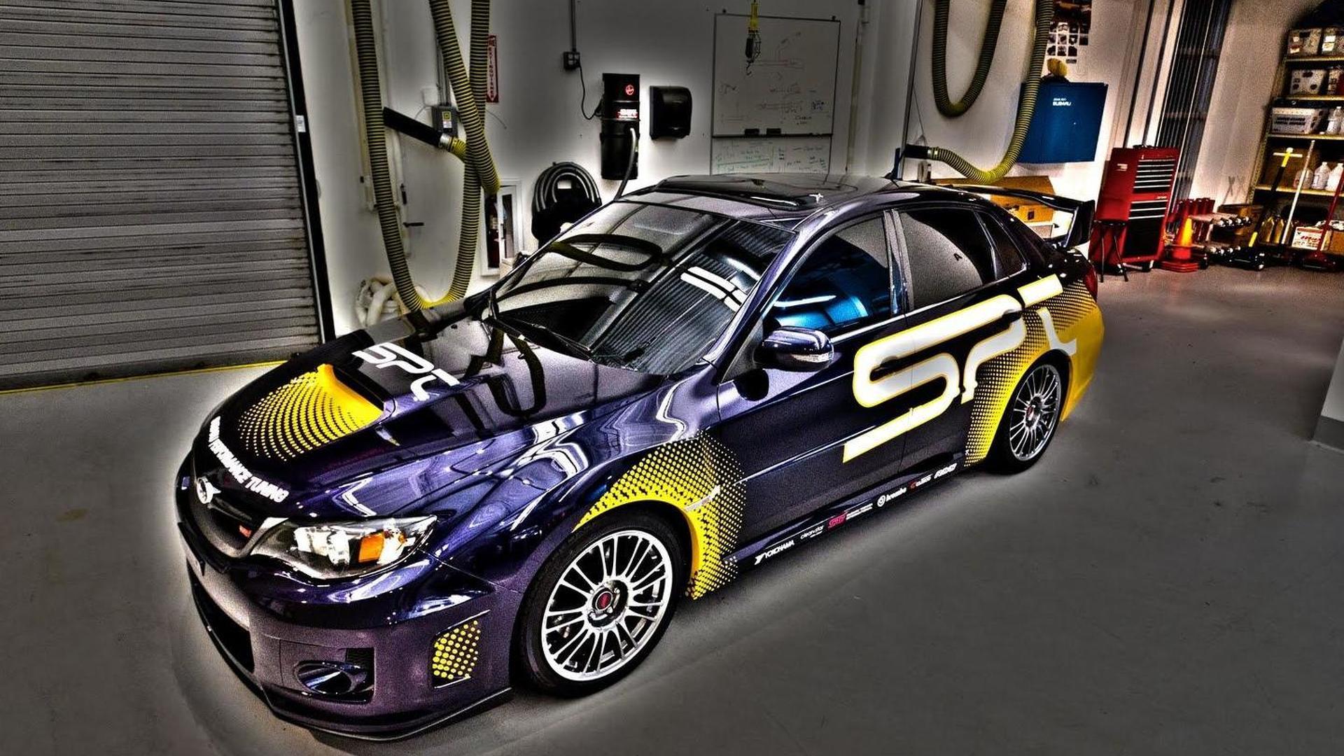 Subaru Imprezas Storm Sema